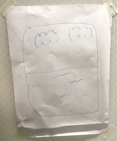 One passenger demanded a window seat, so the flight attendant done exactly what the passenger demanded by drawing an airplane window. It even had a view of the ocean below and a couple of clouds in the sky.