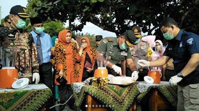 Sabu Senilai 7 Milyar Diblender Pangdam II Sriwijaya, Kapolda dan Pjs. Gubernur Lampung, Buat Apa?