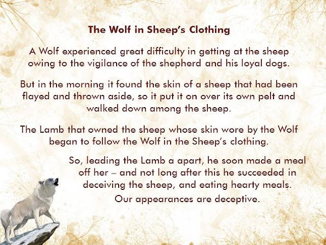 cerita dongeng bahasa inggris serigala
