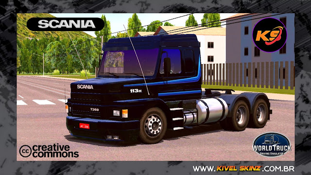 SCANIA T113 - BLACK 3.0
