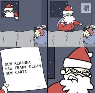 Santa Claus, Christmas , Presents, Music Meme
