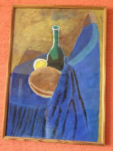 Obraz Modré zátiší