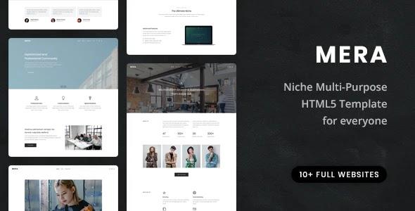 Multi-Purpose HTML5 Template