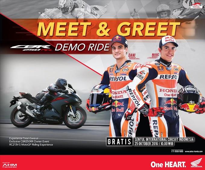 Marc Marquez Datang Lagi Ke Indonesia! Catat Tanggalnya