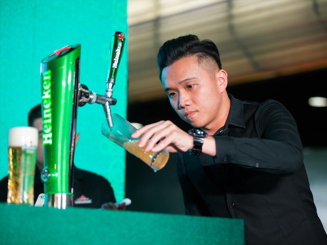 Heineken Star Serve Bartender Finals @ S'Mores, Jaya One