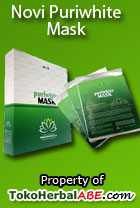 novi puriwhite mask toko herbal abe