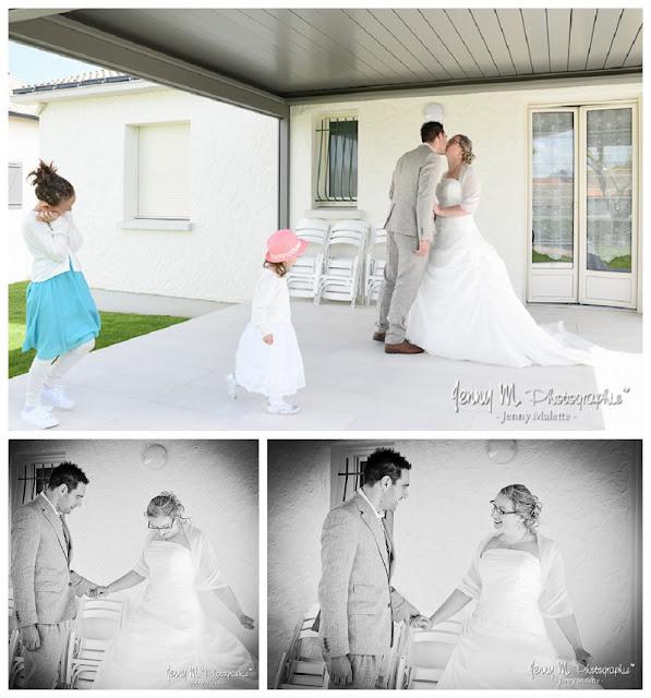 reportage photo découverte des mariés