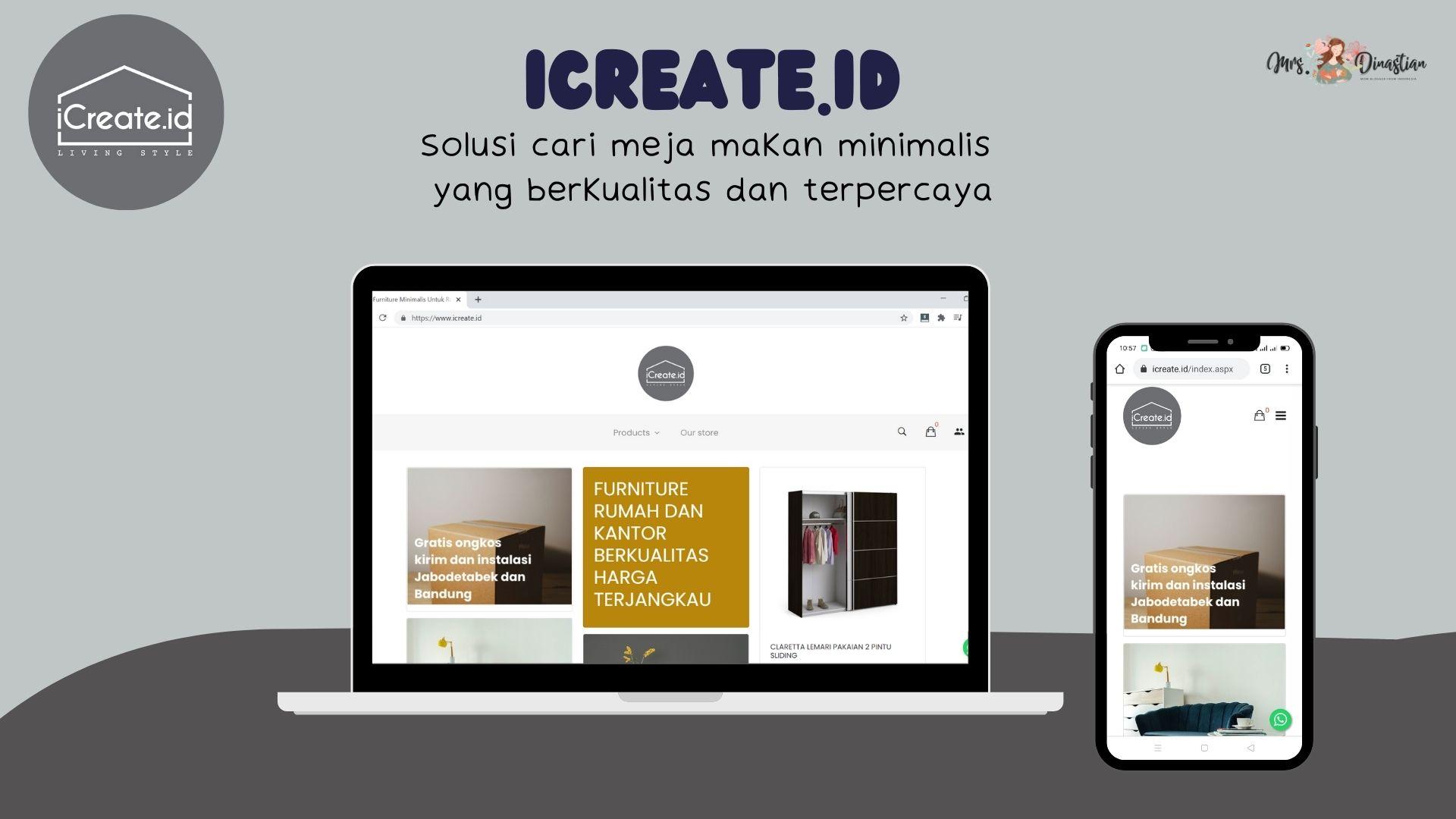 iCreate.id, toko furniture online berkualitas