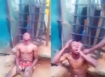 Yahoo-plus Boy Alights From His Car, Runs Mad And Confesses Of Using His Father For Rituals