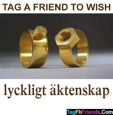 Happy marriage in Swedish language