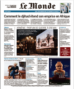 lemonde, le monde magazine 10 October 2020, le monde magazine, le monde news, free pdf magazine download.