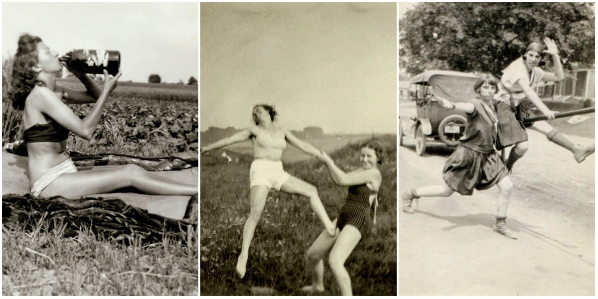 Vintage Snapshots of 'Dangerous' Women From Between the 1930s and