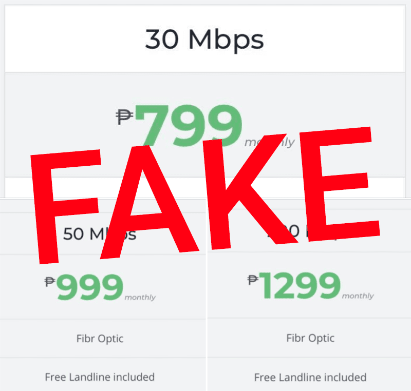 There is no such thing as 30 Mbps for PHP 799 yet