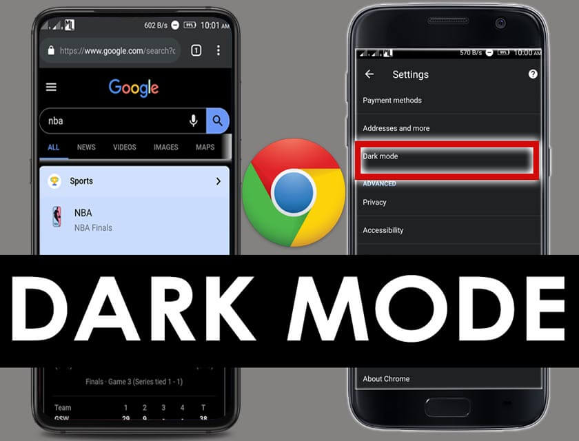Google Chrome Dark Mode for Android