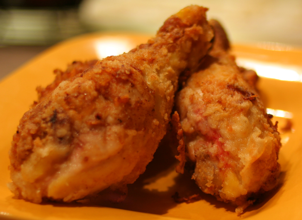 How to Bake Chicken Legs that taste like they're FRIED!