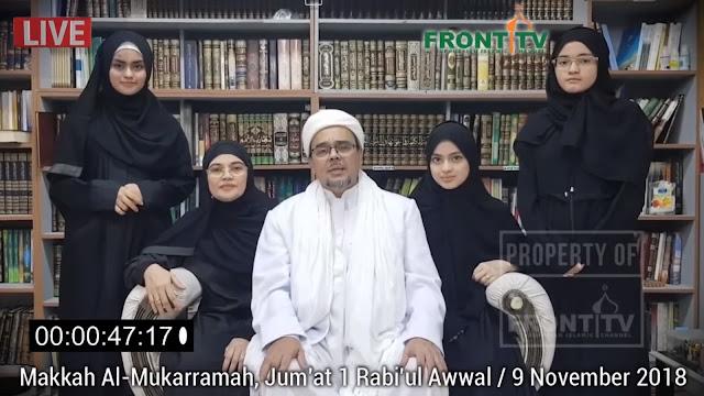 Habib Rizieq Bantah Dubes RI Soal Jaminan dan Pasukan Khusus Diplomat