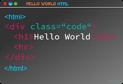 Hello World HTML