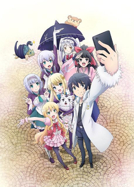 Isekai wa Smartphone to Tomo ni estrena imagen promocional del anime