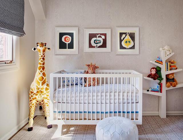 Obras de arte para decorar habitación infantil - cuadros de frutas
