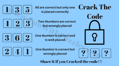 Can you crack the 3 digit code and open the lock?