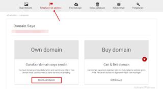Cara Menghubungkan Domain Gratis Freenom dengan Hosting 000webhost