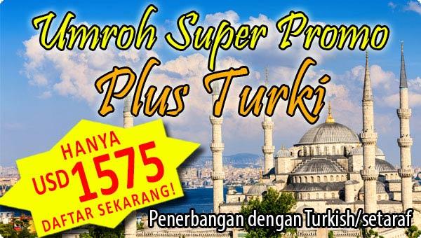 Umroh Plus Turki