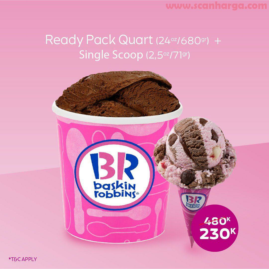 Baskin Robbins Promo Special Ready Pack