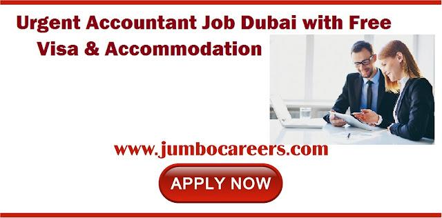 Accountant Job Dubai