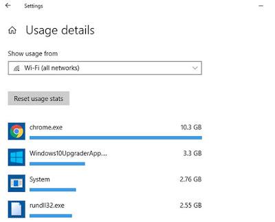 Cara Melihat Aplikasi Yang Menggunakan Jaringan Internet Di Windows 10