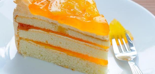 كيك البرتقال