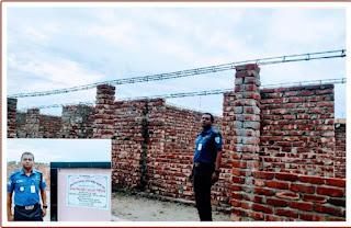 মাধবপুরে থানার ওসি'র আন্তরিকাতায় পুলিশ ফাঁড়ি নির্মাণ