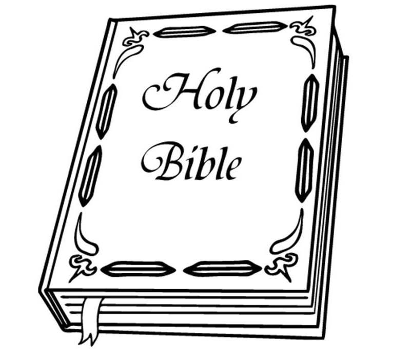 Dibujo De Una Biblia