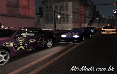 Need For Speed: San Fierro mod gta