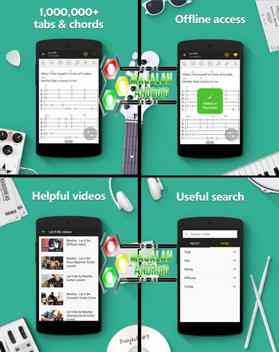 App Ultimate Guitar Tabs Chords V445 Apk Cara Mudah Cari Chords