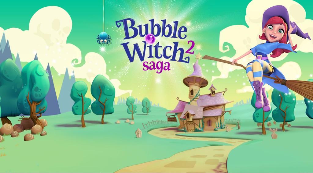 Bubble Witch 2 Saga v1.53.7 Apk Mod [Boosters / Vidas / Movimientos]