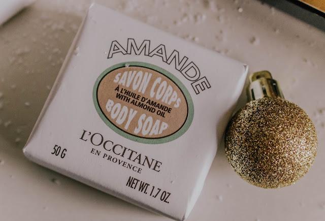 L'Occitane Mini Almond Oil Body Soap