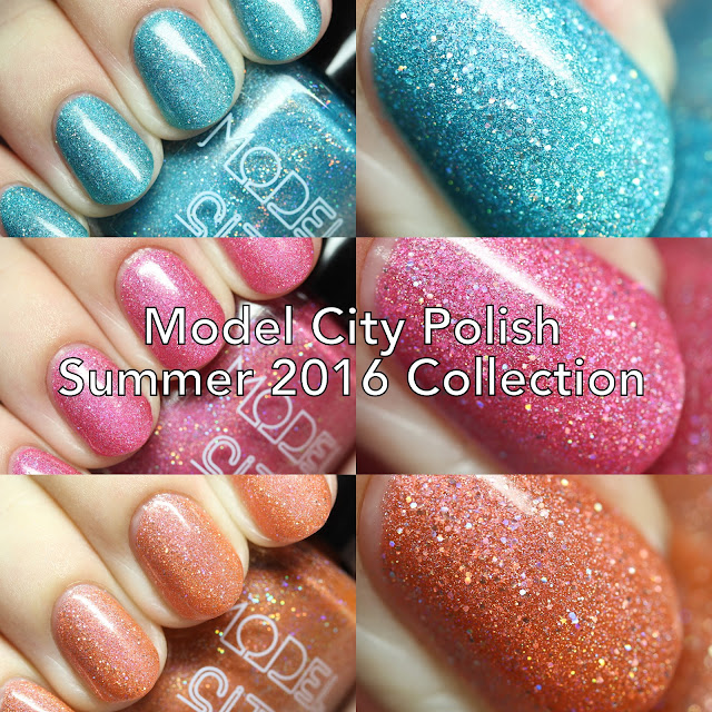 The Polished Hippy: Model City Polish Summer 2016 Collection ...
