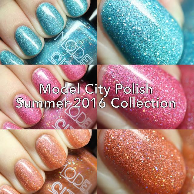 Model City Polish Summer 2016 Collection