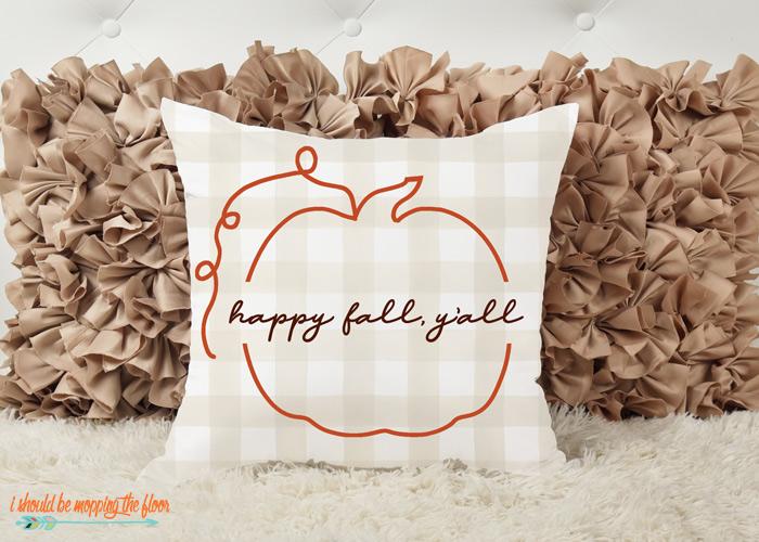 Happy Fall, Y'all SVG
