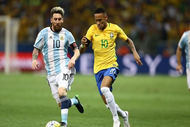 Final tem o brasileiro Neymar e o argentino Messi como protagonistas