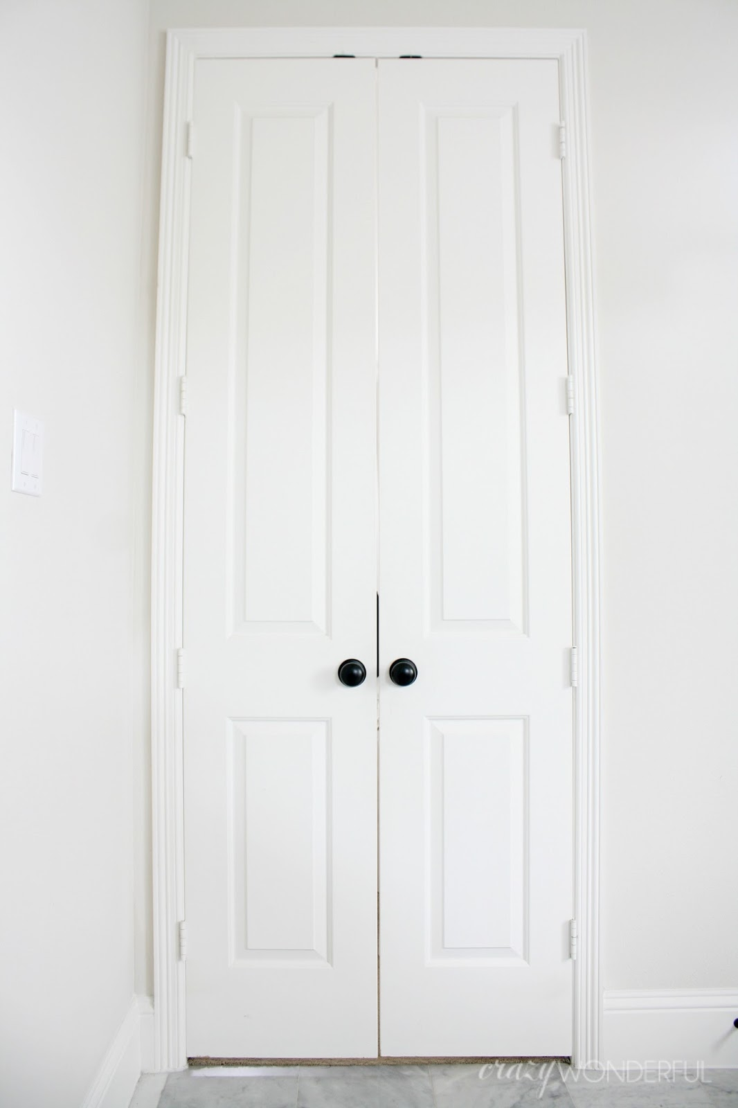 black door hinges - Crazy Wonderful