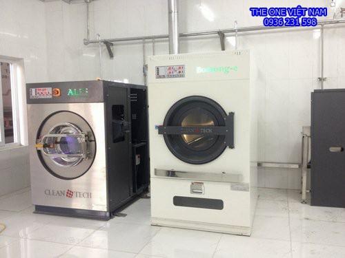 Máy giặt sấy công nghiệp cho nhà nghỉ