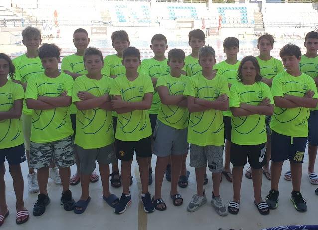 Στη μάχη του Πανελλήνιου Πρωταθλήματος Υδατοσφαίρισης Κ13 οι μικροί του Ν.Ο. Ναυπλίου