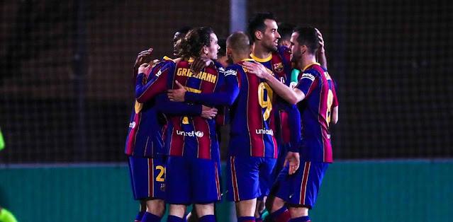 Cornellà vs Barcelona Highlights