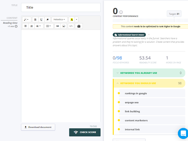 content optimizer