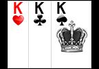 kartu 3 KING Bandar Sakong