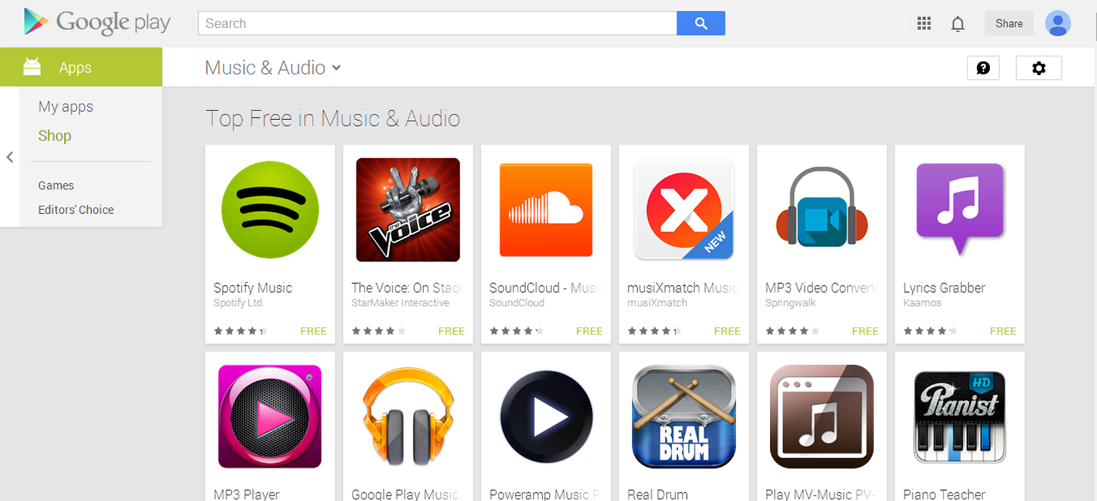 Spotify - Google Play