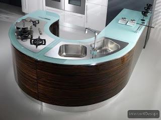 Round Countertop Kitchen 13