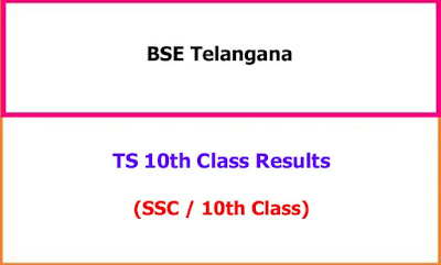 Telangana SSC 10th Class Exam Results