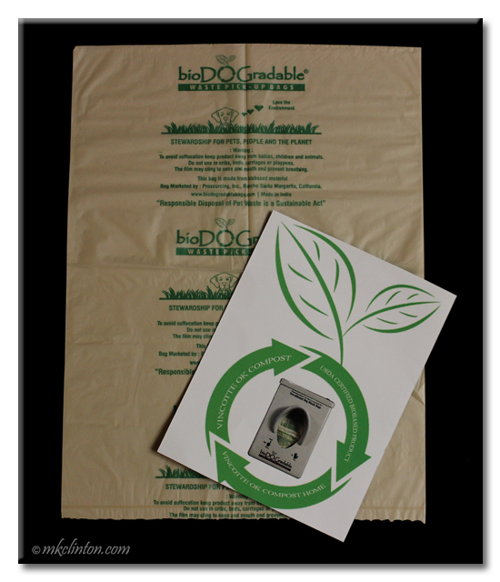 BioDOGradable dog bags are earth-friendly
